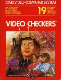 Attractive cover for Atari Video Checkers