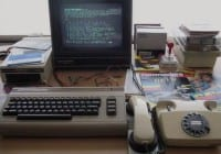 Typical BBS member's workspace