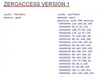 Protocol for earlier version of ZeroAccess