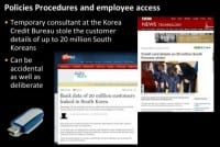 Insider data breach in South Korea