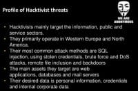 How to tell a hacktivist?