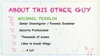 Michael Perklin's brief profile
