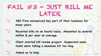 'Just Bill Me Later' fail
