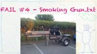 Big ol' smoking gun, indeed