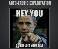 'Auto-Erotic Exploitation'