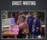 Ghost-Writing, the 80's style