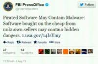 The said FBI tweet