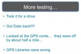 Wrong GPS libraries