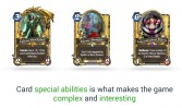 Cards have special effects