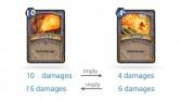 Fireball and Pyroblast compared