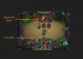 The interface for Hearthstone