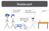 Scenario #1: restaurant
