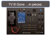 TV-B-Gone taken apart