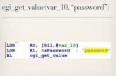 Password requirement