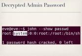 Admin password retrieved