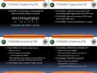 Fingerprinting and exploiting Tor