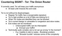 Using Tor to counter SIGINT