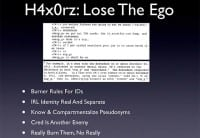 Advice for the h4x0rz