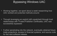 UAC successfully bypassed