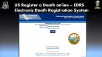 EDRS login form