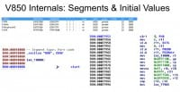 Segments and initial values