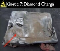 Damage from the diamond charge
