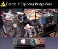 Trying to blow up bridge wire