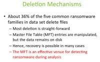 Data obliteration