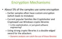 Specificity of implementing the crypto