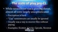 Before CryptoLocker