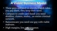 Immaculate modus operandi
