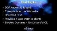 Domain Generation Algorithm details
