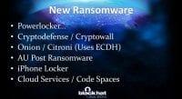 New crypto threats