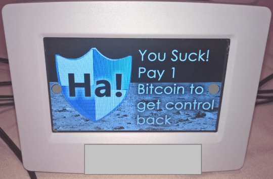 Smart thermostat PoC hack