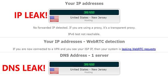 ipleak.net service