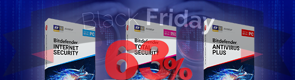 Bitdefender 2019 Black Friday Deal – Up to 63% off!