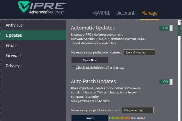 vipre-auto-updates