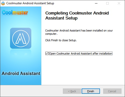 Coolmuster Android Assistant Setup