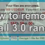 Remove CryptoWall 3.0 ransomware and mitigate the file damage